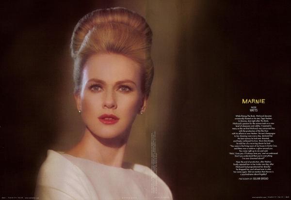 Marnie: Confissões de uma Ladra. 1964. Naomi Watts.