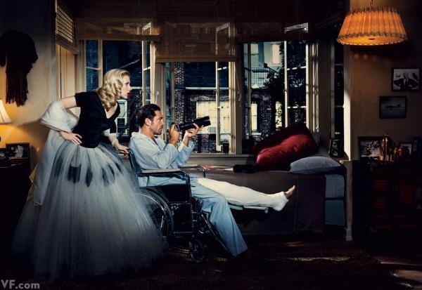 Janela Indiscreta. 1954. Scarlett Johansson e Javier Bardem.